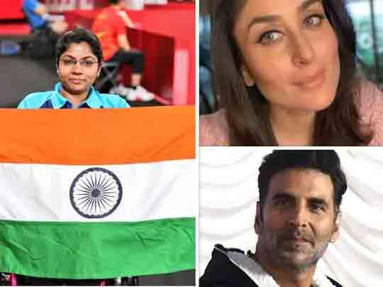 ભાવિના પટેલે ટેબલ ટેનિસમાં સિલ્વર મેડલ જીત્યો, અક્ષય કુમાર સહિત બોલિવૂડ સેલેબ્સે શુભેચ્છા પાઠવી બોલિવૂડ,Bollywood - Divya Bhaskar