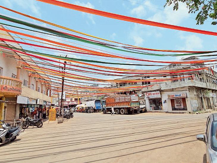 કેશોદમાં શોભાયાત્રા અને મટકીફોડ, શહેર શણગારાયું - Divya Bhaskar