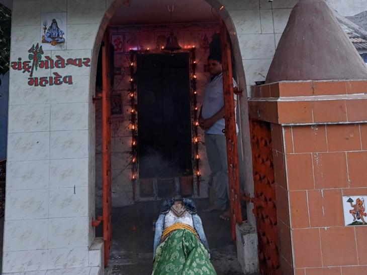 શિવાલયમાં ભાવકોને અનેરી આસ્થા. - Divya Bhaskar