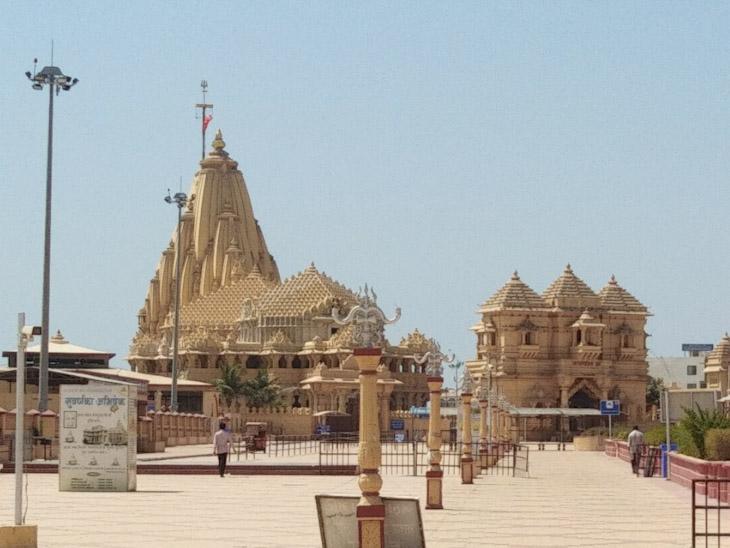 સોમનાથ મંદિર - Divya Bhaskar