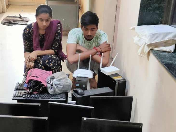 સાયબર સેલ, એલ.સી.બી અને સાણંદ પોલીસ મળી અમદાવાદ ગ્રામ્ય પોલીસે 2ને ઝડપ્યા - Divya Bhaskar