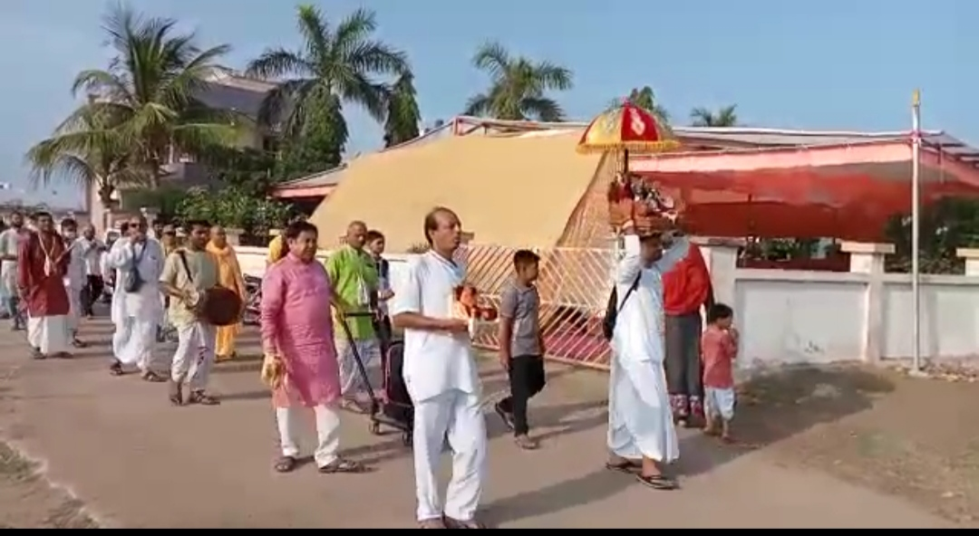 સુરેન્દ્રનગરમાં ઇસ્કોન મંદિર દ્વારા ત્રિદિવસીય જન્માષ્ટમી મહોત્સવનું આયોજન કરાયું - Divya Bhaskar