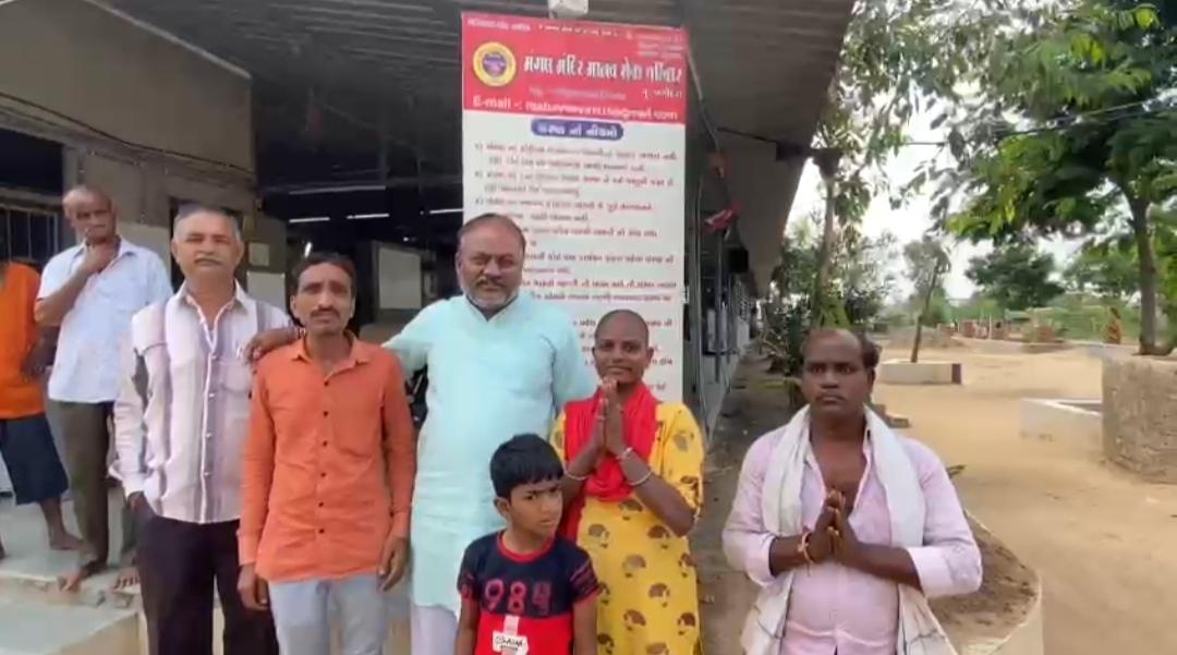 લીંબડી મંગલ મંદિર માનવ સેવા પરિવાર દ્વારા આજે એક યુવતીનું તેના પરિવાર સાથે મિલન કરાવાયું, લાગણીસભર દ્રશ્યો સર્જાયા - Divya Bhaskar