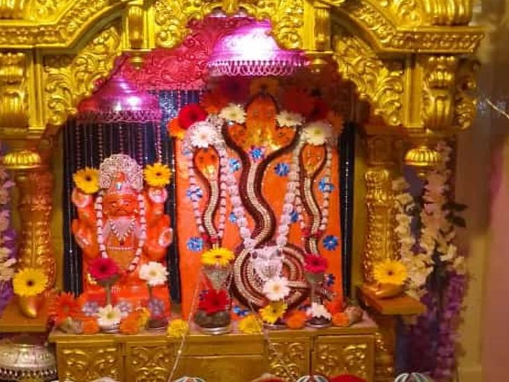 થાનગઢમાં આવેલા નગરદેવતા વાસુકી દાદાના દર્શન અને પૂજનનું શ્રાવણમાં મહત્ત્વ છે. - Divya Bhaskar