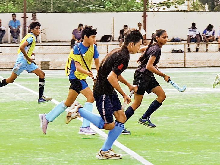 હોકી સ્પર્ધામાં ટુર્નામેન્ટની વિવિધ ટીમોનાં નામ ઓલિમ્પિક મેડલ વિજેતા ખેલાડીઓ પર રખાયાં|વડોદરા,Vadodara - Divya Bhaskar