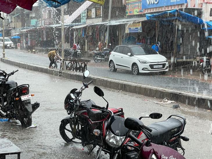 મહેસાણા-પોશીનામાં 1, પાટણ-વિજયનગરમાં અડધો ઇંચ વરસાદ, 31મીથી 5 સપ્ટેમ્બર સુધી વરસાદની આગાહી|હિંમતનગર (સાબરકાંઠા),Himatnagar (Sabarkantha) - Divya Bhaskar