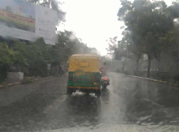 આગામી પાંચ દિવસમાં સમગ્ર રાજ્યમાં સારા વરસાદની સાથે સૌરાષ્ટ્ર-દક્ષિણ ગુજરાતના જિલ્લાઓમાં ભારે વરસાદ ૫ડવાની સંભાવના: હવામાન વિભાગ અમદાવાદ,Ahmedabad - Divya Bhaskar