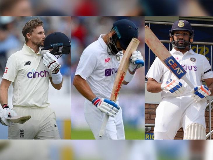 રોહિત શર્માએ વિરાટને ઓવરટેક કર્યો, 3 ટેસ્ટમાં કોહલી ફેલ જતા ટોપ-5ની બહાર ફેંકાયો ક્રિકેટ,Cricket - Divya Bhaskar