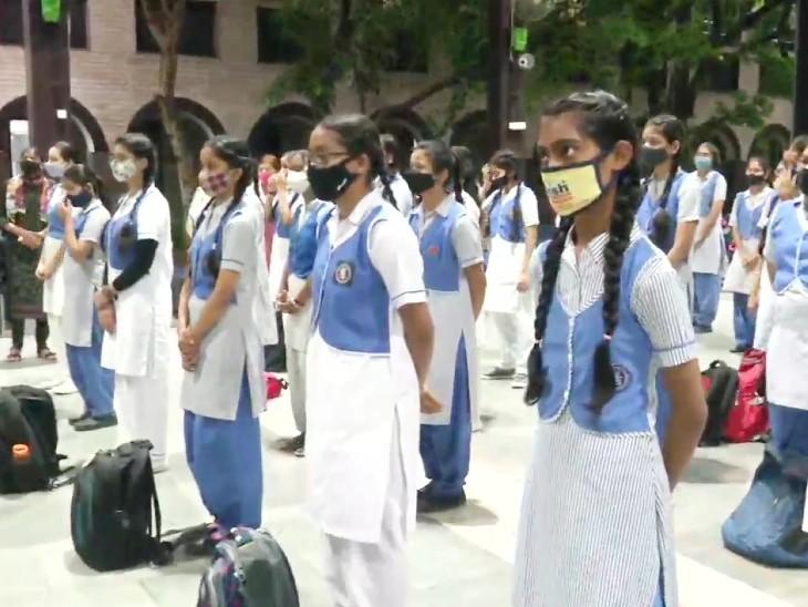 દિલ્હીમાં ફરી સ્કૂલો શરુ કરવામાં આવી છે