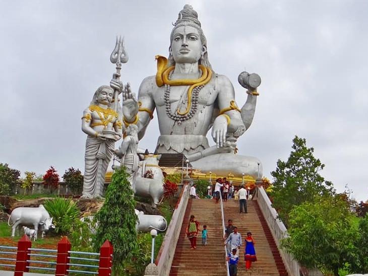 કર્ણાટકના મુરુદેશ્વર મંદિરનો ઇતિહાસ બૈજનાથ જ્યોતિર્લિંગની સ્થાપના અને રાવણ સાથે જોડાયેલો છે