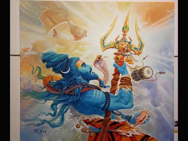 હેમલ સોલંકીના આ ચિત્રને 21 વોટ મળ્યા અને પ્રથમ ક્રમે આવ્યું હતું. - Divya Bhaskar