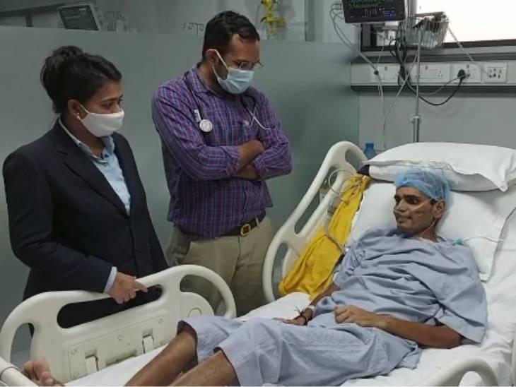 128 દિવસ સુધી હોસ્પિટલમાં સારવાર લીધી