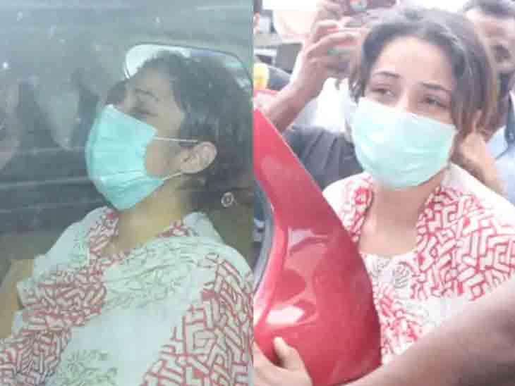 સ્મશાનમાં સિદ્ધાર્થ શુક્લાનો પાર્થિવદેહ જોતા જ શેહનાઝે ચીસ પાડીને કહ્યું હતું, 'મમ્મીજી, મેરા બચ્ચા...મમ્મીજી...'|ટીવી,TV - Divya Bhaskar