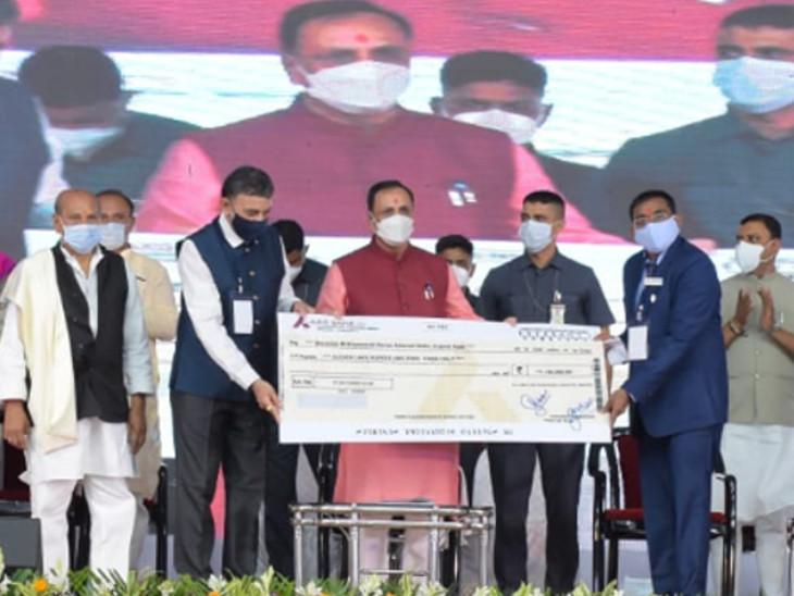મુખ્યમંત્રીએ ડોદરા નજીક કરખડીમાં હાઈટેક ઔષધ સંશોધન અને વિકાસ કેન્દ્રનો પ્રારંભ કરાવ્યો હતો - Divya Bhaskar