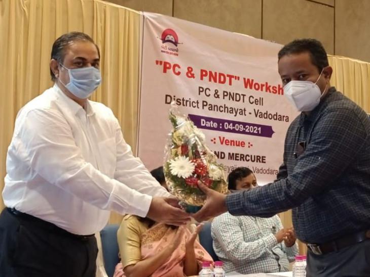 શિબિરમાં વડોદરા શહેર અને જિલ્લાના 150 તબીબોને પીસી એન્ડ પીએનડિતી કાયદાના ચુસ્ત અમલનું માર્ગદર્શન આપવામાં આવ્યું