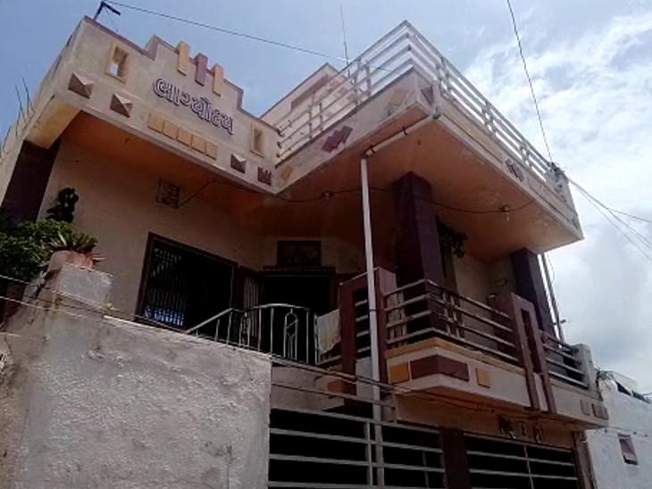 જસદણમાં આવેલું વેપારીનું ઘર.