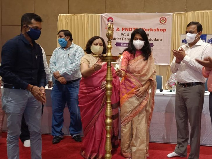 વડોદરા શહેર અને જિલ્લાના 150 જેટલા તબીબોને માર્ગદર્શન આપવામાં આવ્યું હતું - Divya Bhaskar