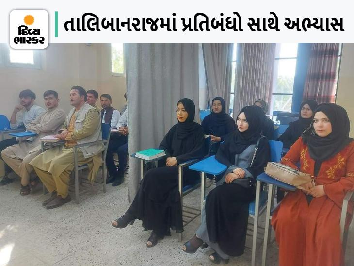 છોકરીઓ બુરખો પહેરીને શાળામાં જશે, વર્ગમાં પણ લગાવાશે પડદો, જેથી છોકરા-છોકરીઓ એકબીજાને જોઈ ન શકે વર્લ્ડ,International - Divya Bhaskar