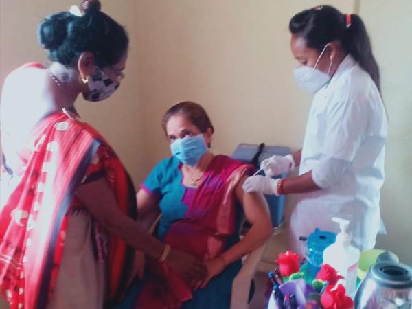જલાલપોર તાલુકાના મંદિર ગામે પણ 100 ટકા રસીકરણ. - Divya Bhaskar