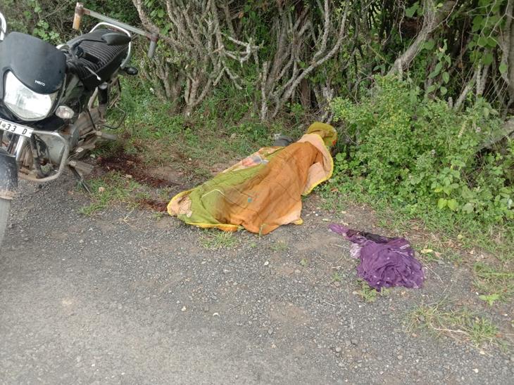 યુવકની લાશ મળતા પોલીસ તપાસ શરૂ કરાઇ. - Divya Bhaskar