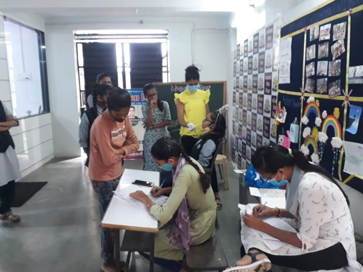 ઘરેથી ભણતા DPSના વિદ્યાર્થીને કોરોના, પિતાનો ચેપ લાગ્યો હતો, પિતા મુંબઇથી ત્રણ દિવસ પહેલા સુરત આવ્યા હતા|સુરત,Surat - Divya Bhaskar