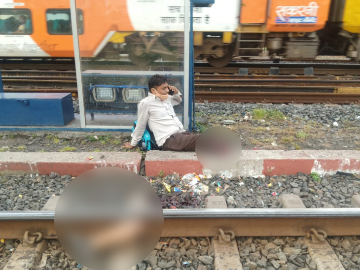 ચાલુ ટ્રેનમાં ચડતાં પહેલાં સાવધાન, સુરત રેલવે સ્ટેશન પર રત્નકલાકારે બન્ને પગ ટ્રેન નીચે ગુમાવ્યા સુરત,Surat - Divya Bhaskar