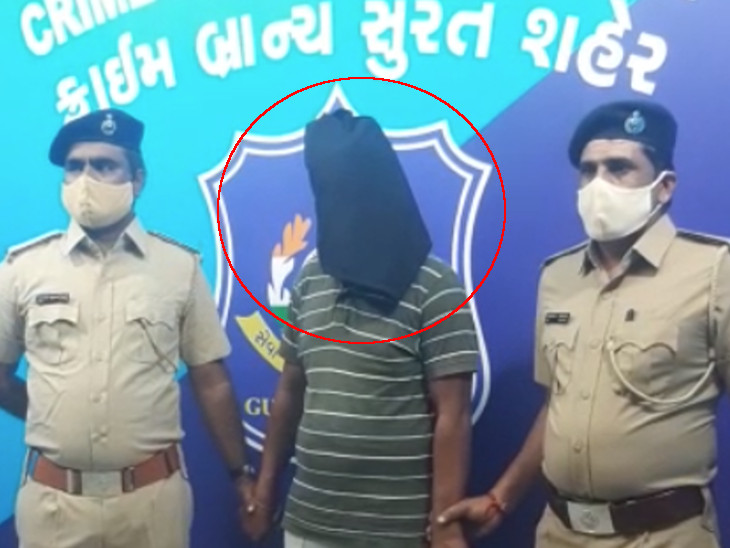 સુરતમાં ઘરમાં ઘૂસી લૂંટ ચલાવી પકડાઈ જતાં યુવકની હત્યા કરી નાસી જનાર આરોપી ઝડપાયો|સુરત,Surat - Divya Bhaskar