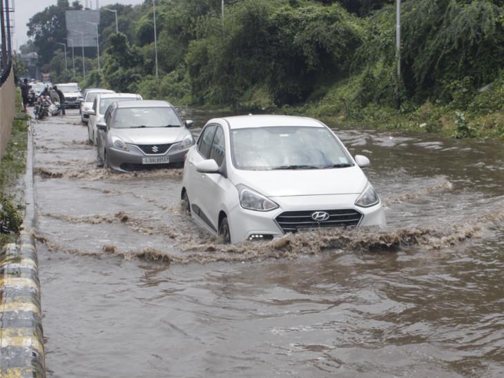 ગુજરાતમાં છેલ્લા 24 કલાકમાં 180 તાલુકામાં વરસાદ, સૌથી વધુ ભાવનગરના ઘોઘામાં 3.5 ઈંચ વરસાદ અમદાવાદ,Ahmedabad - Divya Bhaskar