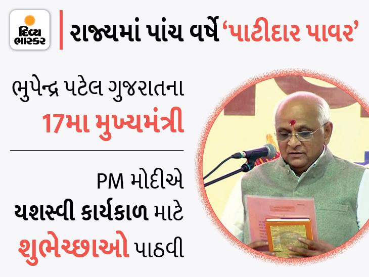 શપથવિધિ પતાવીને નવા CM ભૂપેન્દ્ર પટેલે પહેલી જ મિટિંગ પૂર ઈમરજન્સીની કરવી પડી, સૌરાષ્ટ્રના વરસાદ-રાહત કાર્યની સમીક્ષા કરી|અમદાવાદ,Ahmedabad - Divya Bhaskar