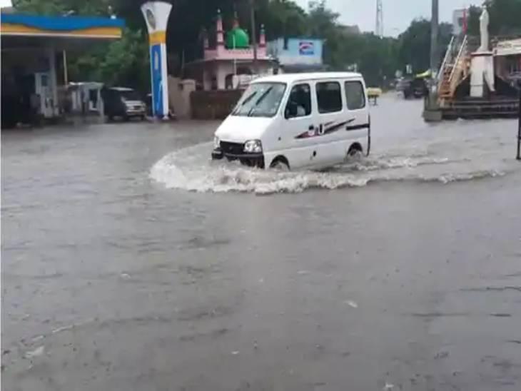 છેલ્લા બે દિવસથી સૌરાષ્ટ્રમાં વરસાદ થઈ રહ્યો છે