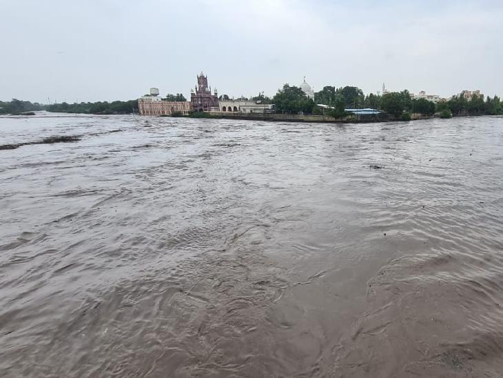 જામનગરની નાગમતી-રંગમતી નદીમાં ઘોડાપૂર