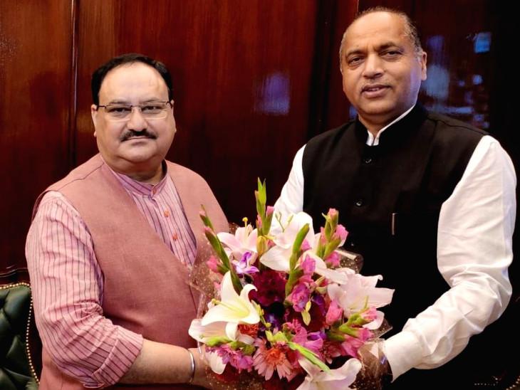 BJP હાઇકમાને બોલાવતાં દિલ્હી પહોંચ્યા CM જયરામ ઠાકુર, કોંગ્રેસે મજાક કરતાં કહ્યું- ખુરશી બચાવજો|ઈન્ડિયા,National - Divya Bhaskar