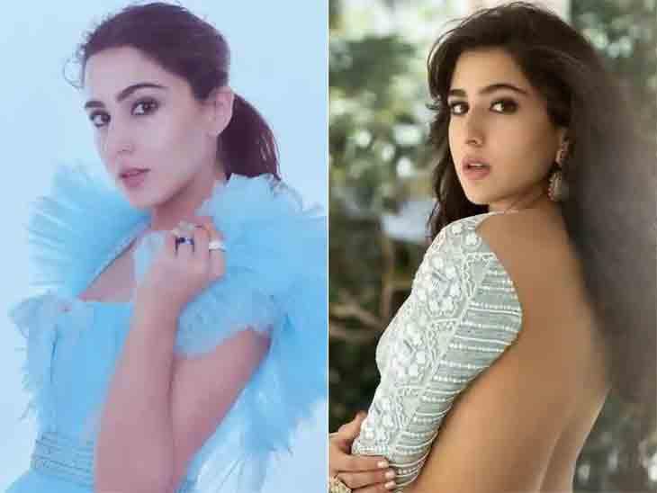 સૈફ અલી ખાનની દીકરી સારા ઓરેન્જ બિકીનીમાં જોવા મળી, સો.મીડિયામાં તસવીરો વાઇરલ|બોલિવૂડ,Bollywood - Divya Bhaskar