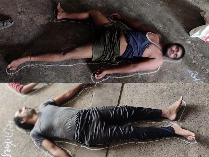 કારખાનામાં મોડી રાતે ત્રણેય કારીગર કારખાનાનો દરવાજો બંધ કરી સૂઈ ગયા હતા