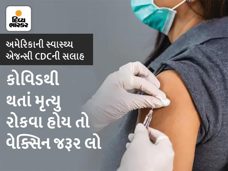 વેક્સિન ન લેનારા લોકોમાં કોરોના વાઈરસથી મૃત્યુ થવાનું જોખમ 10ગણું, અમેરિકાની સ્વાસ્થ્ય એજન્સી CDCએ 3 રિસર્ચ રિપોર્ટ જાહેર કરી વેક્સિનની અસરકારકતા સમજાવી|હેલ્થ,Health - Divya Bhaskar