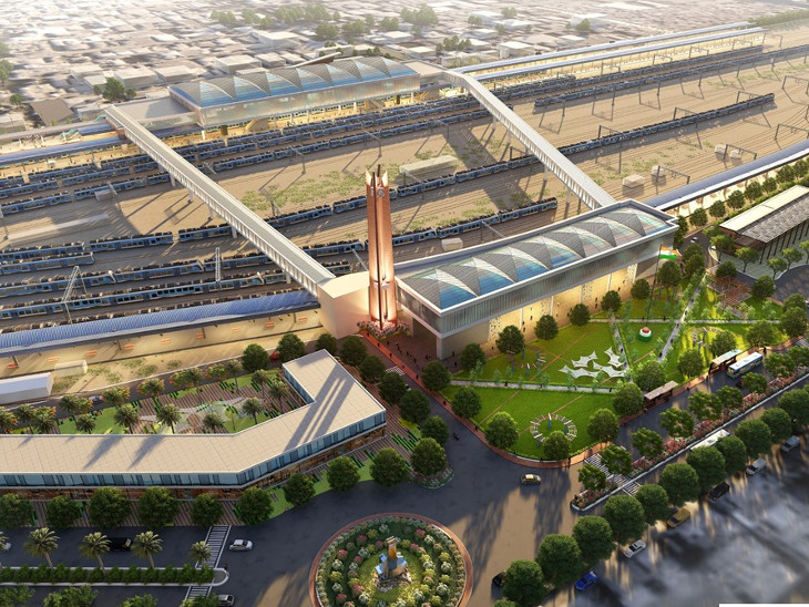 સ્ટેશનોને આંતરરાષ્ટ્રીય એરપોર્ટ જેવા બનાવવા અને મુસાફરોને વિશ્વસ્તરીય સુવિધાઓ આપવા નિયત ધારાધોરણો અનુસાર રિડેવલપમેન્ટ કરાશે