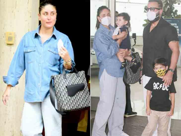 સલમાન ખાન બાદ હવે એરપોર્ટ પર CISFના જવાને કરીના-સૈફને રોક્યા, તમામના ID કાર્ડ ચેક કર્યા બાદ જ જવા દીધા|બોલિવૂડ,Bollywood - Divya Bhaskar