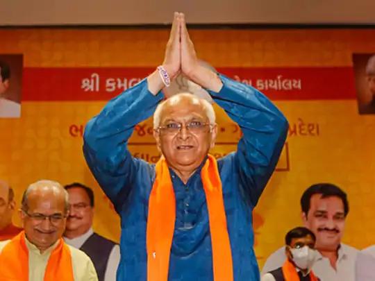 ભૂપેન્દ્ર પટેલ, ગુજરાતના નવા મુખ્યમંત્રી.