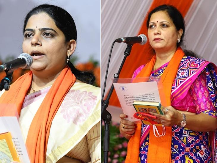 ભાજપની બે યુવા મહિલાઓને લોટરી લાગી,મંત્રીઓમાં સૌથી શિક્ષીત મનિષા વકિલ ગાંધીનગર,Gandhinagar - Divya Bhaskar