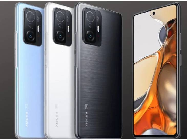 આઈફોન 13 જેવાં 'સિનેમેજિક ફીચર' સાથે લોન્ચ થઈ શાઓમીની 11T સિરીઝ, 17 મિનિટમાં 100% ચાર્જ થશે ફોન|ગેજેટ,Gadgets - Divya Bhaskar