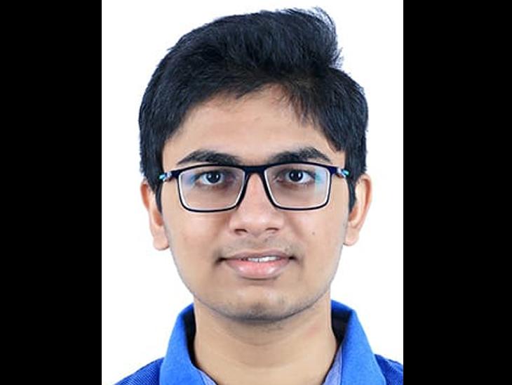 માનવ શાહ,રેન્ક 113, પર્સન્ટાઇલ : 99.993 - Divya Bhaskar