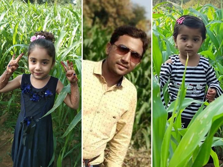 યુવાને બંને દીકરીઓ સાથે આપઘાત કર્યો. - Divya Bhaskar