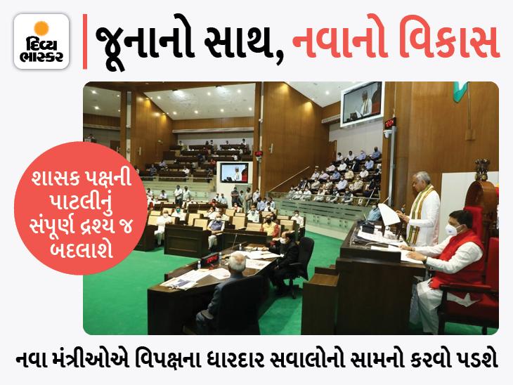 રૂપાણી સરકારે 27મી એ બોલાવેલા વિધાનસભા સત્રમાં હવે પટેલની નવી સરકારની પહેલી પરીક્ષા, જૂના મંત્રીઓ સાથે રહેશે કે સામે?|અમદાવાદ,Ahmedabad - Divya Bhaskar