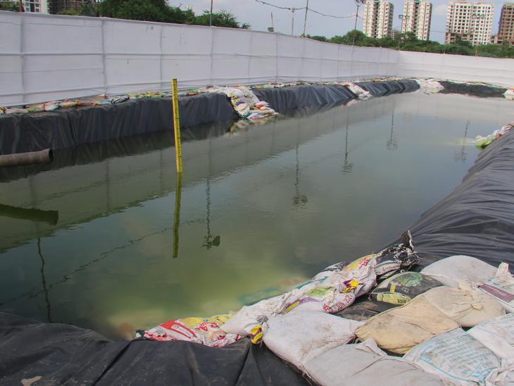 વિસર્જન બાદ પ્રતિમાઓને દરિયામાં પધરાવી દેવા પાલિકાની વ્યવસ્થા, કૃત્રિમ તળાવનું પાણી  સુએઝ ટ્રીટમેન્ટમાં છોડાશે - Divya Bhaskar