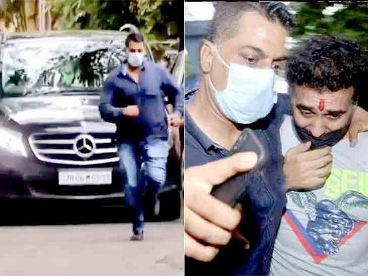 રાજ કુંદ્રા ઘરે આવતાં જ બોડીગાર્ડે કાર આગળ એક્સપ્રેસની ઝડપે દોટ મૂકી લોકોને હટાવ્યા, કોણ છે આ બૉડીગાર્ડ રવિ?|બોલિવૂડ,Bollywood - Divya Bhaskar