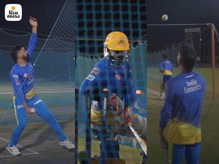 બોલિંગ દરમિયાન ધોની થયો ઓવર સ્ટેપિંગનો શિકાર, જાડેજાએ બેક ટુ બેક સિક્સ ફટકારી; છેવટે કેપ્ટન કૂલે ક્લિન બોલ્ડ કર્યો|IPL 2021,IPL 2021 - Divya Bhaskar