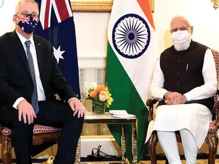 મોદીએ ઓસ્ટ્રેલિયાના PM સાથે પરસ્પરના સંબંધો વધુ દૃઢ કરવા પર ચર્ચા કરી, જાપાની PM સાથેની મીટિંગમાં ટ્રેડ વધારવા પર ફોકસ|વર્લ્ડ,International - Divya Bhaskar