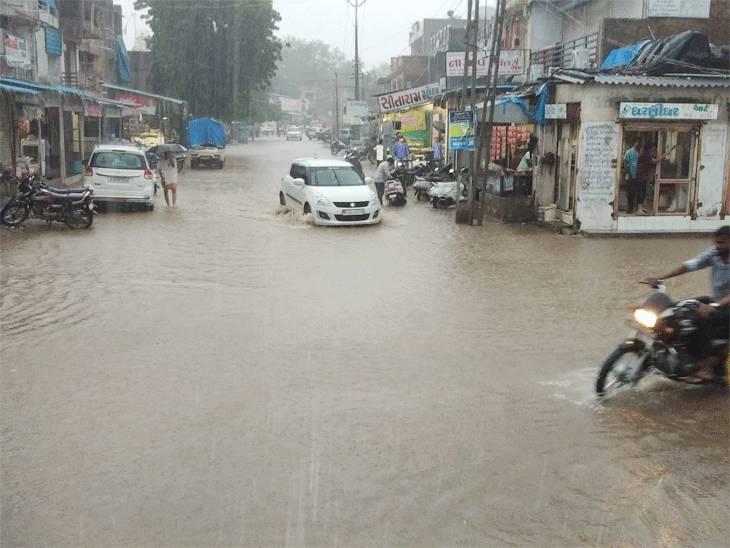 રાજ્યના 17 તાલુકામાં 50 ટકાથી ઓછો વરસાદ, 28 સપ્ટેમ્બર સુધી મધ્યમથી ભારે વરસાદ થવાની શક્યતા|અમદાવાદ,Ahmedabad - Divya Bhaskar