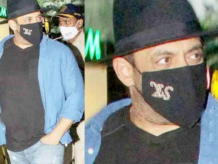'ટાઇગર 3'નું શૂટિંગ પૂરું કરી સલમાન ખાન મહિના બાદ મુંબઈ પરત ફર્યો, ભાઈજાને ઊંધો માસ્ક પહેર્યો|બોલિવૂડ,Bollywood - Divya Bhaskar