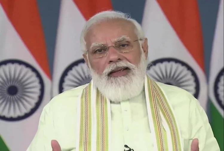 PM મોદીએ 35 પાકની ખાસ જાતો લોન્ચ કરી, જળવાયુ પરિવર્તન અને કુપોષણની અસરમાં ઘટાડો થશે; પાકની નવી જાતોથી ચમકશે ખેડૂતોનું નસીબ|ઈન્ડિયા,National - Divya Bhaskar